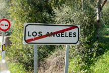 Leider erst am Ausgang gemerkt, dass wir durch LA gefahren sind...