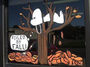 Foiled By Fall #Snoopy