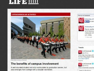 College Life, for University of Cincinnati