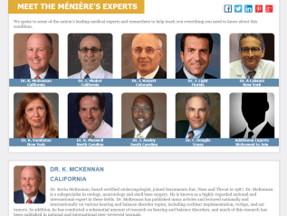 Meniere's Experts