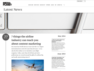 Mediaplanet's Company Blog