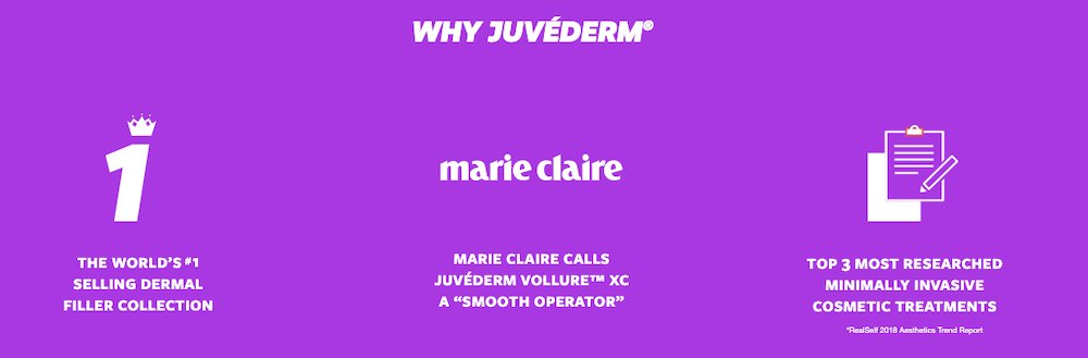 why Juvéderm 3