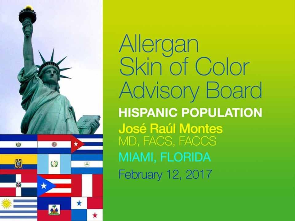Allergan Skin of Color Advisory Board Meeting 1