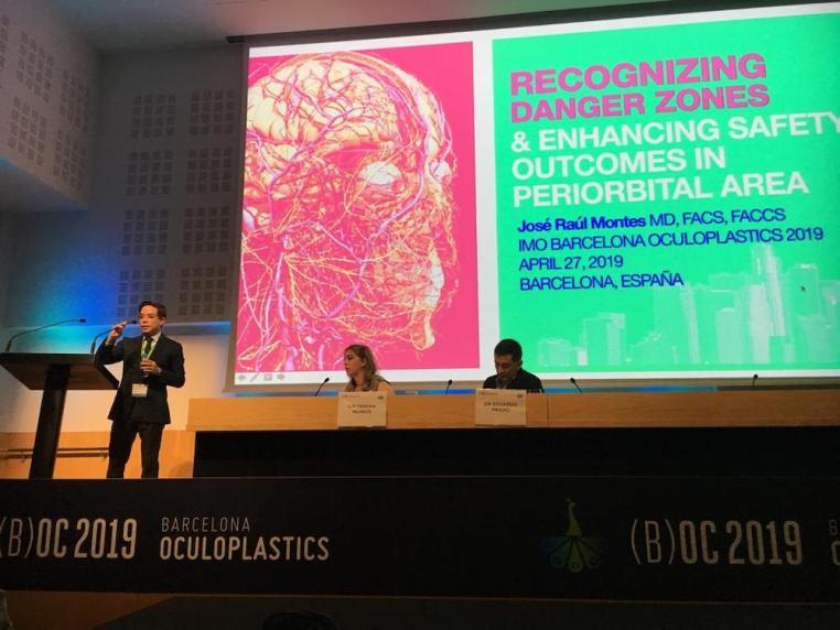 barcelona oculoplastics 2019 conferencias dr montes 3