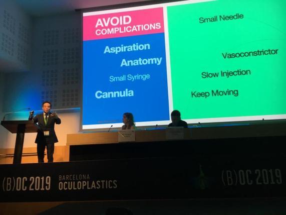 barcelona oculoplastics 2019 conferencias dr montes 6