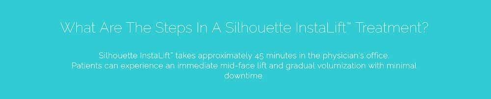 silhouette instalift treatment