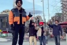 Diljit Dosanjh and Sonam Bajwa give a 'cold' scuttle to Pawri meme – peep video