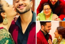 Bigg Boss 14 finalist Aly Goni celebrates his birthday with Jasmin Bhasin and his family – review pics