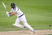 Ashes name-up Vince toughs it out as Hampshire live to allege the tale