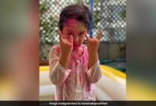 करीना कपूर ने तैमूर अली खान की होली मनाते हुए शेयर की फोटो तो मलाइका अरोड़ा बोलीं