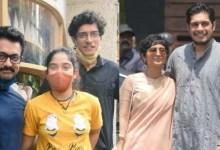 जुनैद खान का बॉडी ट्रांसफ़ॉर्मेशन शॉक नेटिज़न्स;  आमिर खान और इरा के साथ उनकी दुर्लभ पुरानी तस्वीरें देखें