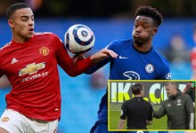 Ole Gunnar Solskjaer fumes as Luke Shaw says 'Harry Maguire got told Callum Hudson-Odoi handball became a penalty' as Manchester United plot at Chelsea