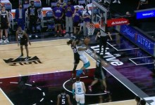 Hornets' Monk drains final 2d lay up for retract in opposition to Kings