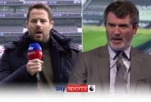 Keane & Redknapp's heated debate over Spurs!