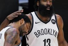 Kyrie Irving on James Harden's Return to Houston: There Could well maybe now not Be 'S–t-Talking'