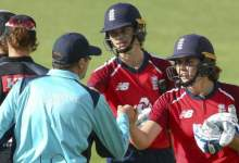 Sciver shines as England thrash NZ in first T20