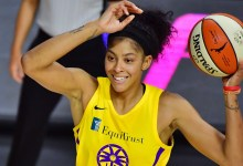Candace Parker colleges Shaquille O'Neal for the period of 'NBA on TNT' dialogue of popular defense