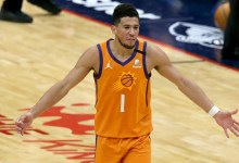 Devin Booker's ejection, explained: Suns well-known particular person booted vs. Lakers after aiming 'profane language' at referee