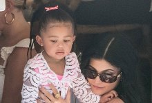 Kylie Jenner & Daughter Stormi Show conceal Off Matching Balmain Outfits & Passport Cases — Survey