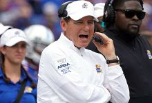 Kansas places Les Miles on leave, proclaims review of LSU allegations