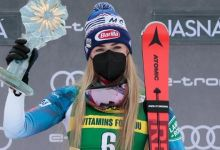 Shiffrin wins in Slovakia to finish on Vlhova in World Cup standings