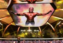 Fans Lunge Loopy for WWE Champion Bobby Lashley's Original Entrance on Monday Evening Raw