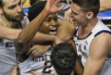 Video: Notre Dame Beats Wake Woodland on Buzzer-Beater in ACC Match 1st Round