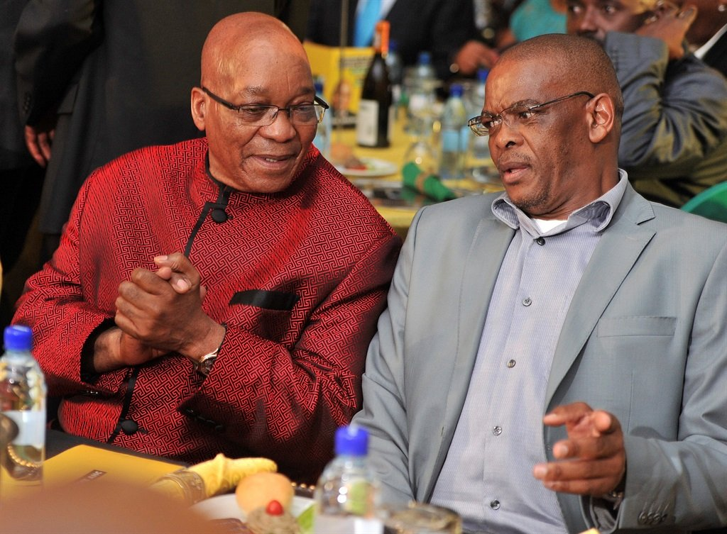 News24.com | Magashule reveals the outcome of Zuma's meeting with ANC top 6