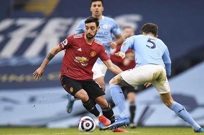 News24.com | Bruno Fernandes hails United's 'almost perfect' showing vs City in Manchester derby