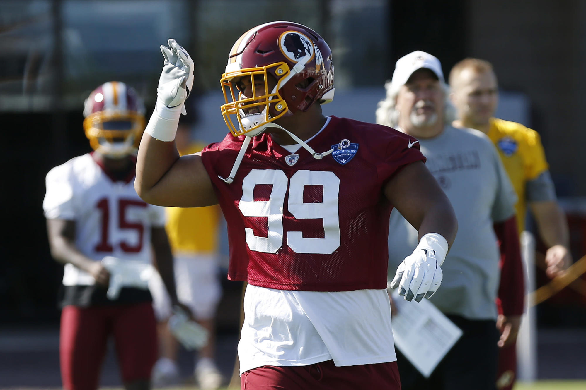 Washington releases five players, including the son of Randy Moss