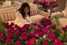Nick Jonas ditches the traditional red as he gifts Priyanka Chopra a room full of magenta roses