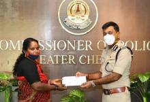 Conservancy staff in Chennai rewarded for handing over valuables from garbage bin to police