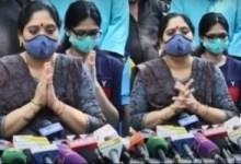 विवेक की पत्नी अरुल सेल्वी की पहली प्रेसवार्ता उनकी मृत्यु के बाद हुई