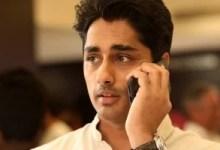 चौंका देने वाला !  अभिनेता सिद्धार्थ को बलात्कार और जान से मारने की धमकी