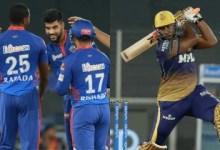 IPL 2021: Delhi Capitals hold Kolkata Knight Riders to 154/6 despite Andre Russell's late blitz