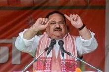 केरल में कम्युनिस्टों के खिलाफ और बंगाल में साथ चुनाव लड़ रही कांग्रेस, असम में बोले नड्डा