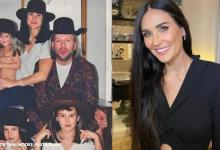 Demi Moore shares throwback pic with ex-husband Bruce Willis, calls him one of a kind