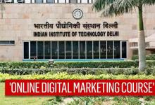 IIT Delhi launches online digital marketing course, graduates can apply; full details here