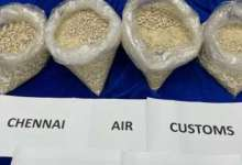 Two Tanzanian nationals arrested at Chennai airport with heroin worth Rs 100 crore