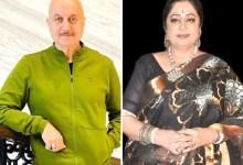अनुपम खेर ने पत्नी किरन खेर के निधन की अफवाहों पर प्रतिक्रिया दी