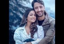 शहीर शेख-हिना खान का उनके म्यूजिक वीडियो बारिश बन जाना का पहला लुक प्यार के बारे में है