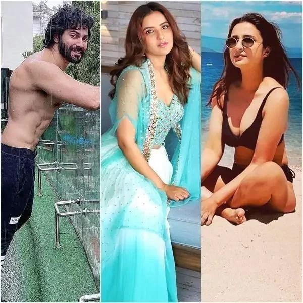 Trending entertainment photo gallery: Varun Dhawan, Jasmin Bhasin, Parineeti Chopra and more unmissable celeb pictures of the day