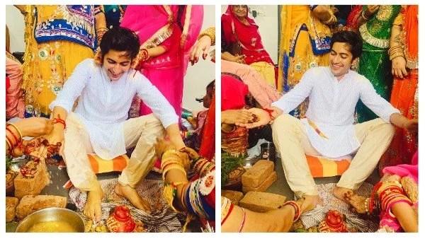 पांड्या स्टोर फेम अक्षय खरोदिया ने अपने हल्दी समारोह से तस्वीरें अपने सोशल मीडिया पर साझा की