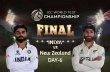 India vs New Zealand WTC Final Live Cricket Score Online: भारत को लगा बड़ा झटका, अजिंक्य रहाणे को ट्रेंट बोल्ट ने किया आउट