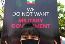तख्तापलट पर अमेरिकी प्रतिबंध म्यांमार के मंत्री, सैन्य इकाइयांEnt
