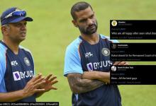 Rahul Dravid leads Indias first training session in Sri netizens say clean sweep