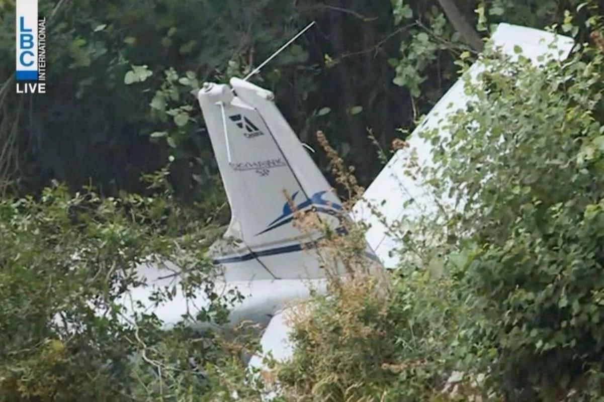 लेबनान में प्रशिक्षण विमान क्रैश, तीन की मौत की आशंका