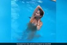 रुबीना दिलैक ने येलो बिकिनी पहन शेयर किया Pool Video, इंटरनेट पर हुआ वायरल