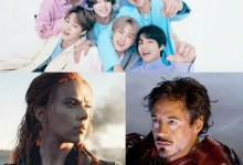 Trending Hollywood news today: BTS gets a shout out from Elton John for Permission To Dance, Black Widow director reveals why they didn't have a cameo of Robert Downey Jr.'s Iron Man in the film and more