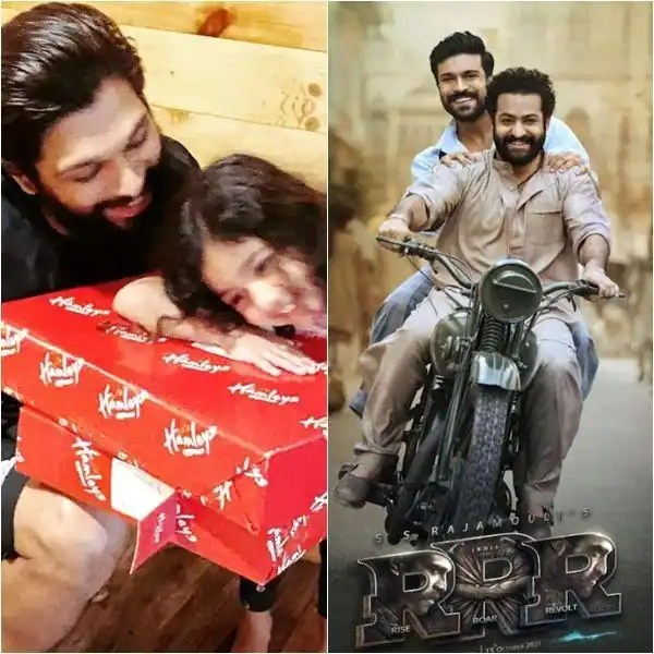 Trending South News Today: Allu Arjun announces daughter Allu Arha's debut in Samantha Akkineni's film, RRR's BTS video featuring Ram Charan and Jr NTR stuns fans and more